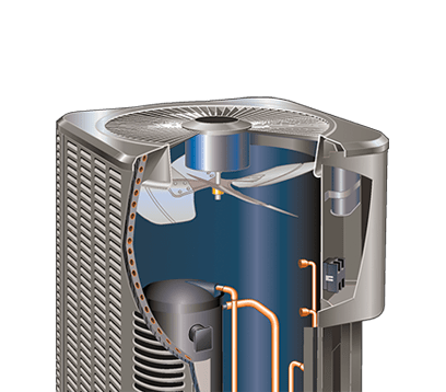 14acx cutaway Lennox Air Conditioners