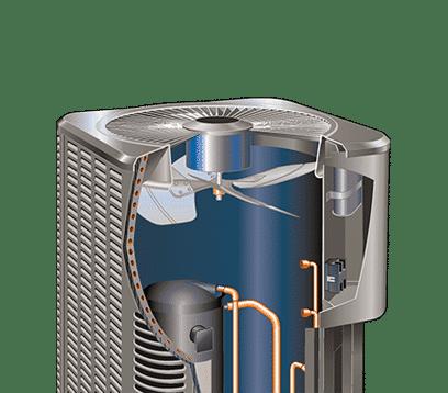 14hpx cutaway Lennox Heat Pumps