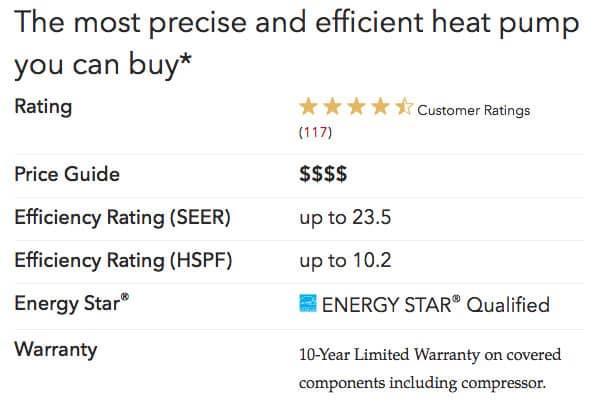 xp25 specs Lennox Heat Pumps